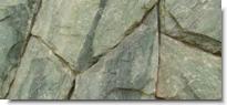 Pedra Policrômica Verde-Rosa